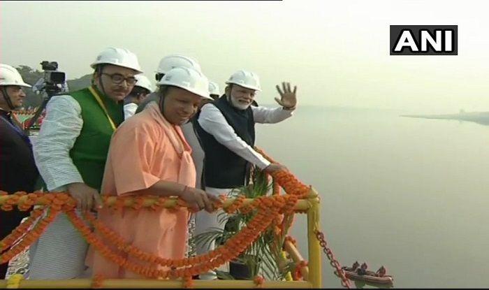 गंगा जलमार्ग परियोजना - PM Modi Inaugurates India's Maiden Multi-modal Terminal